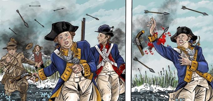 Battle of the Wabash, 1791.