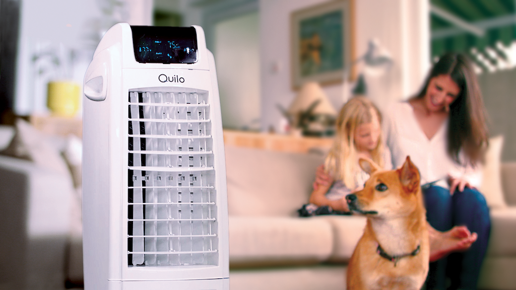 Quilo 2.0: The World's First Advanced 4-in-1 Smart Tower Fan