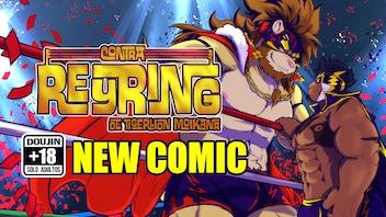 VS. REYRING (lucha libre gay comic/bara/yaoi /furry )