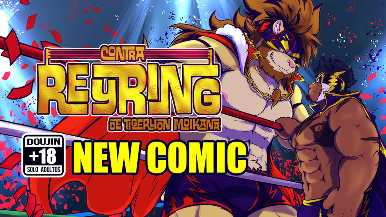 VS Reyring Comic Lucha libre, comedia, golpes y mucha calentura!