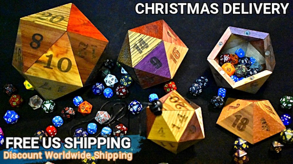 2018 Special D20 Dice Cases for D&D Pathfinder or RPG gamer project video thumbnail