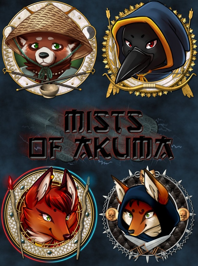 These (awesome) tokens are by Midgardia RPG's Tsukino Hikaru (@mystarseed on Twitter; token borders by  @GabrielPMC2)