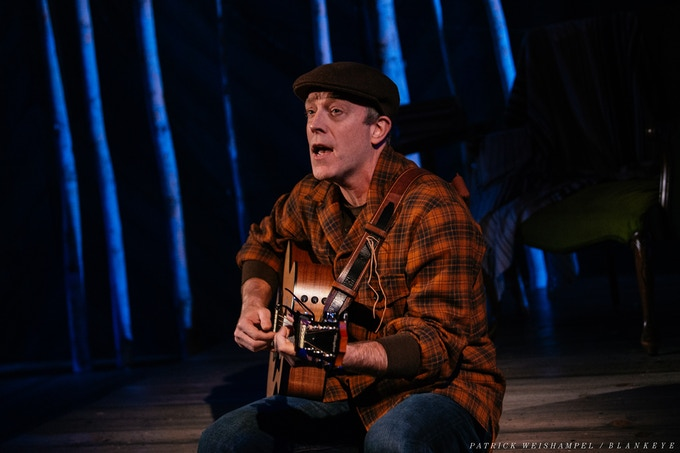 Lief Norby in Winter Song at The Armory. Photo by Patrick Weishampel.