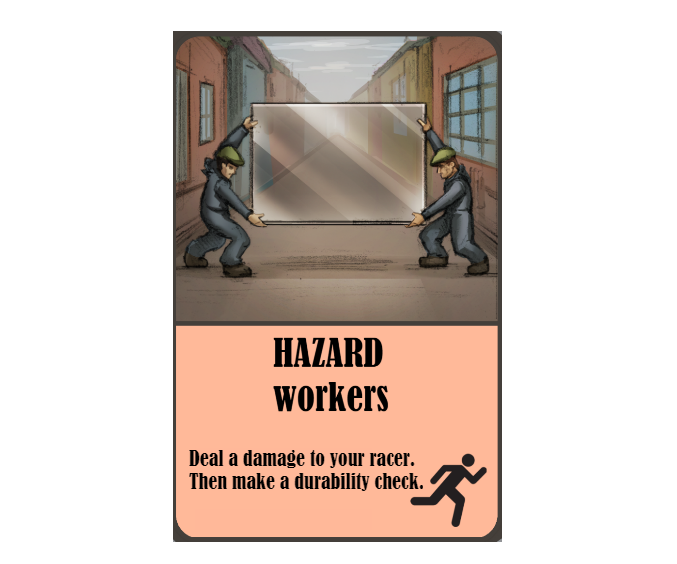This trope-heavy hazard can wreck your racer.