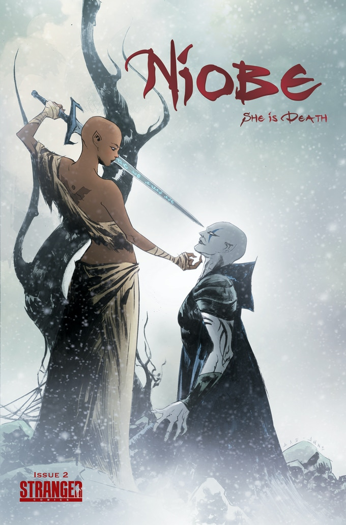 NIOBE She is Death #2 by Jae Lee