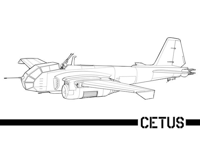 Cestus Medium Bomber