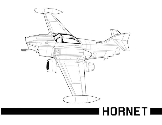 The Hornet Light Fighter