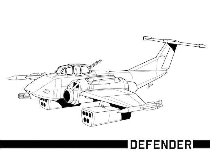 Defender Heavy Fighter
