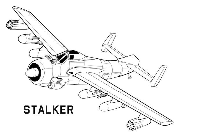 Stalker Close Air Support Aircraft
