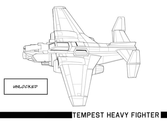 UNLOCKED Tempest Heavy Fighter