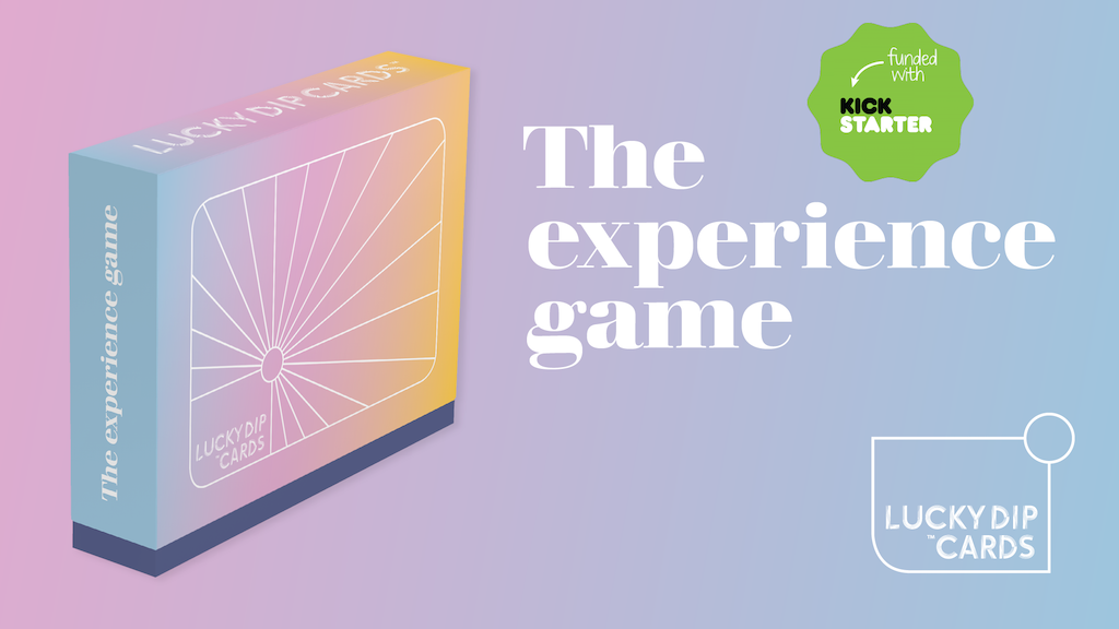 Lucky Dip Cards. The experience game for an exceptional year project video thumbnail