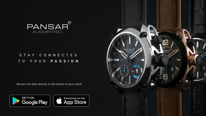 pansar augmented watch stay connected to your passion by pansar