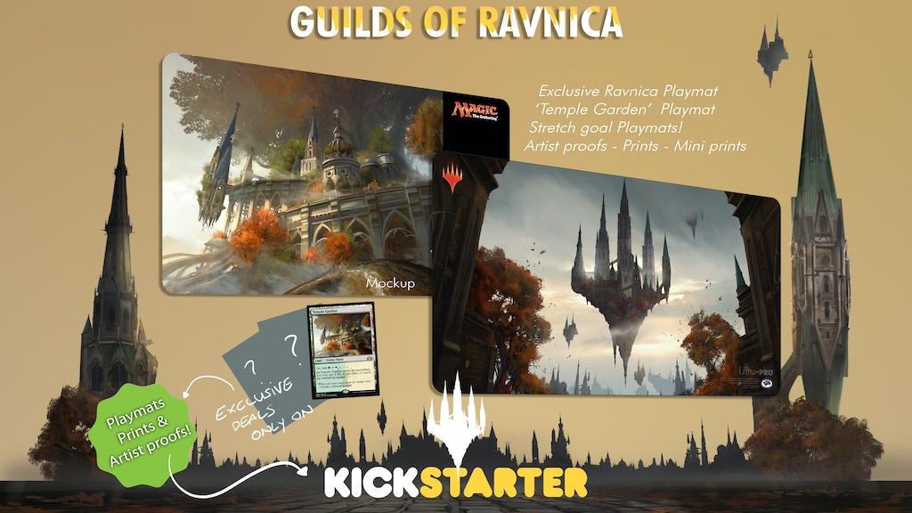 Titus Lunter's - Guilds of Ravnica - art bonanza project video thumbnail