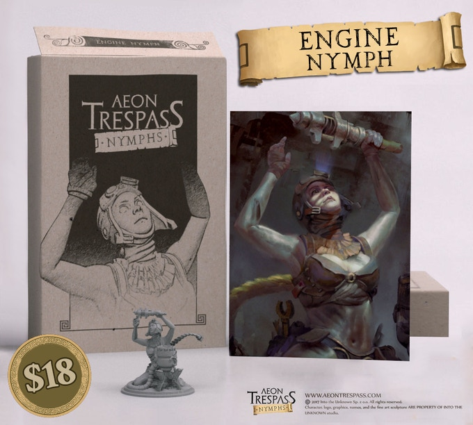 Engine Nymph Encore set