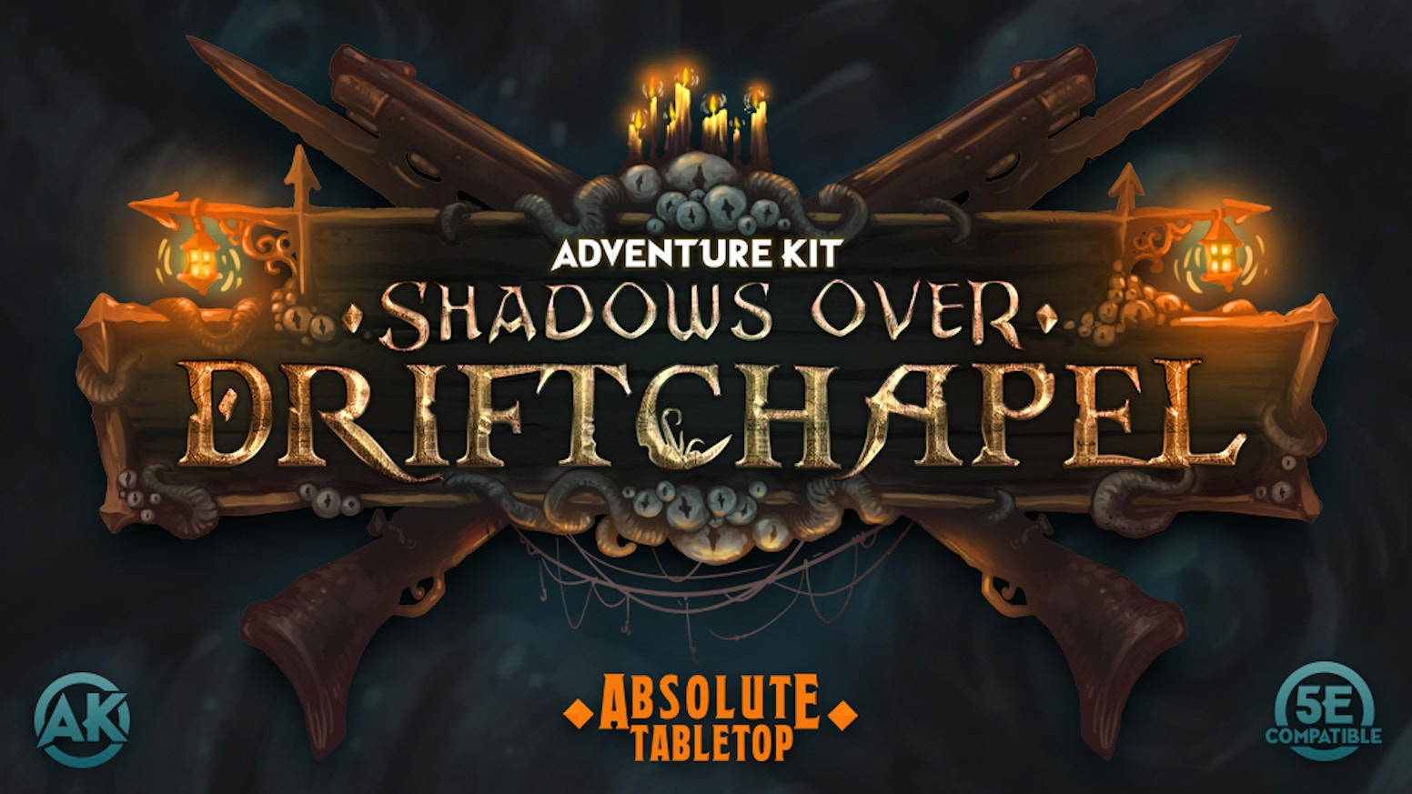 Adventure Kit: Shadows Over Driftchapel - 5E Compatible by