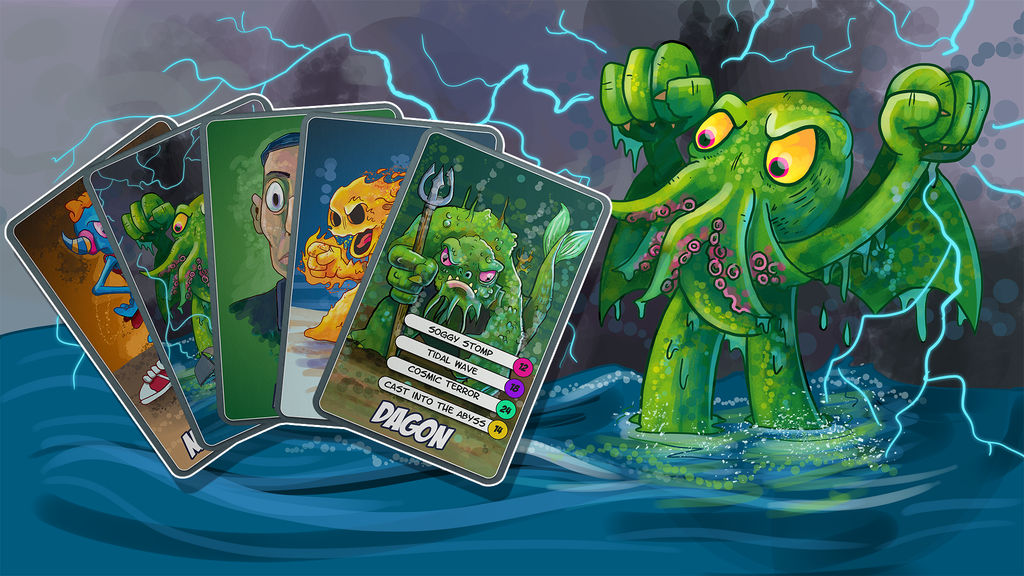Cthulhu Kids: Cosmic Catastrophe Battle Card Game project video thumbnail