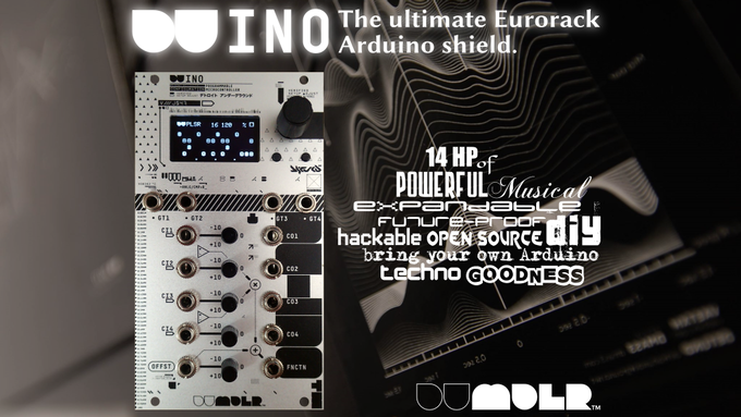 DU-INO: The Ultimate Eurorack Arduino Shield by Aaron Mavrinac