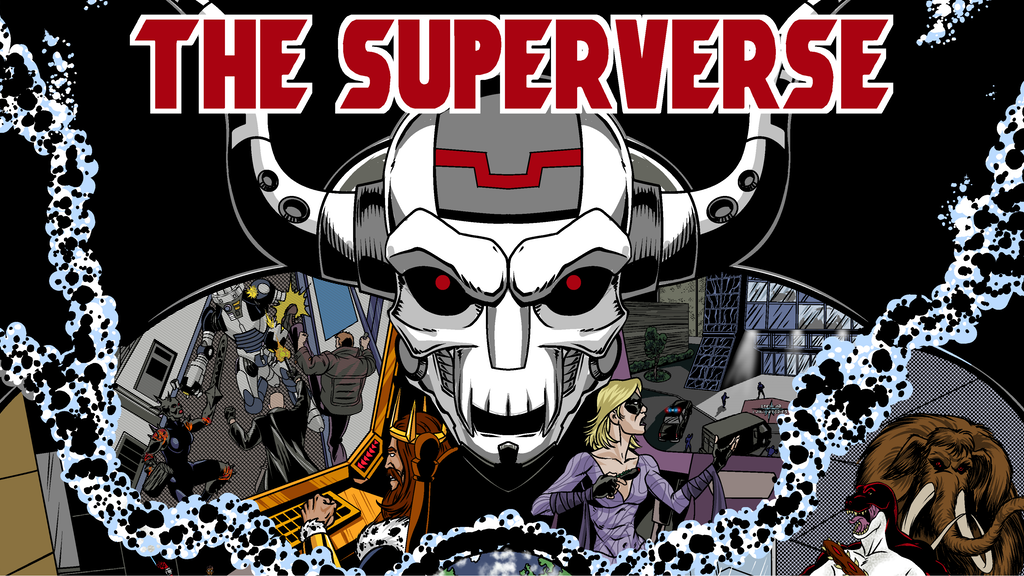 The Superverse - A Superhero Campaign Sourcebook project video thumbnail