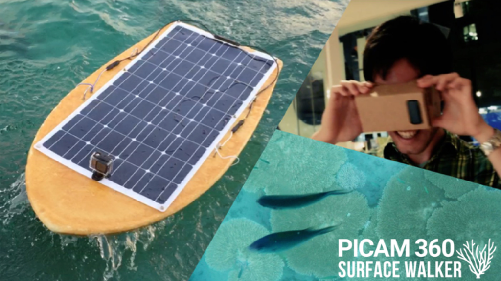 Picam360-SurfaceWalker : Open Source Aquatic Drone project video thumbnail