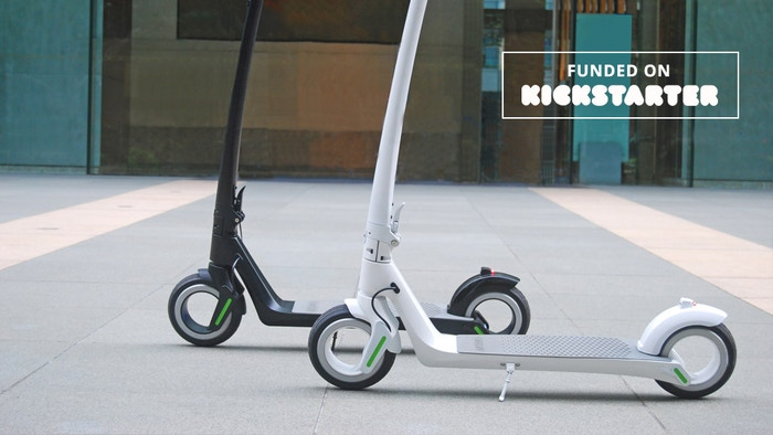 Most stylish and powerful electric scooter ever, with hubless wheels and incredible specs for daily use.