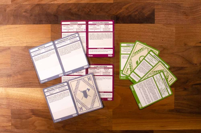 (clear plastic) SpellBook Card Holders for the MMCD