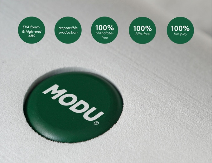 MODU is made strictly from high-end materials