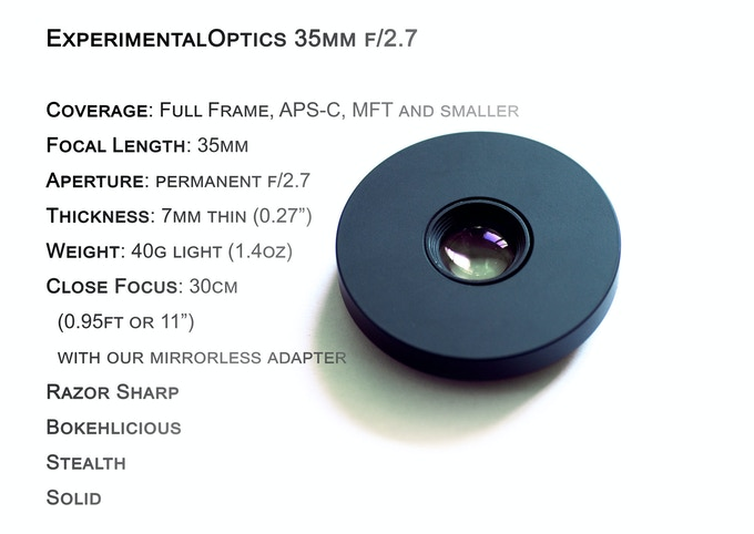 35mm f/2.7 – The Smallest Fastest Pancake Lens in the World! by ...