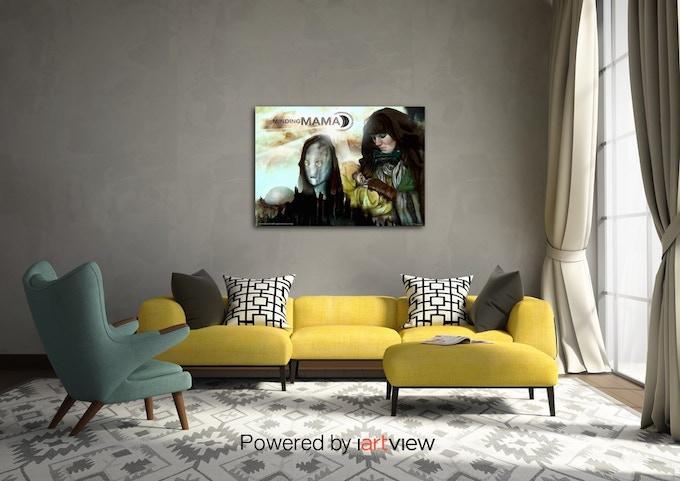 Poster Art by Amanda Fullwood