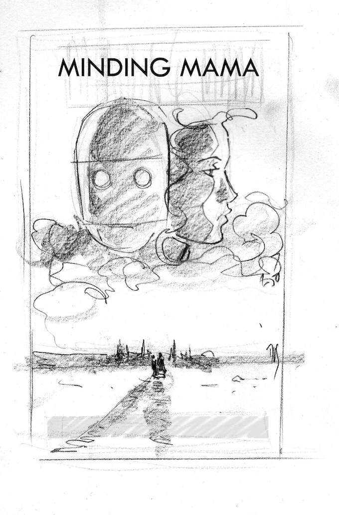 1st draft cover art by Dan Schaefer