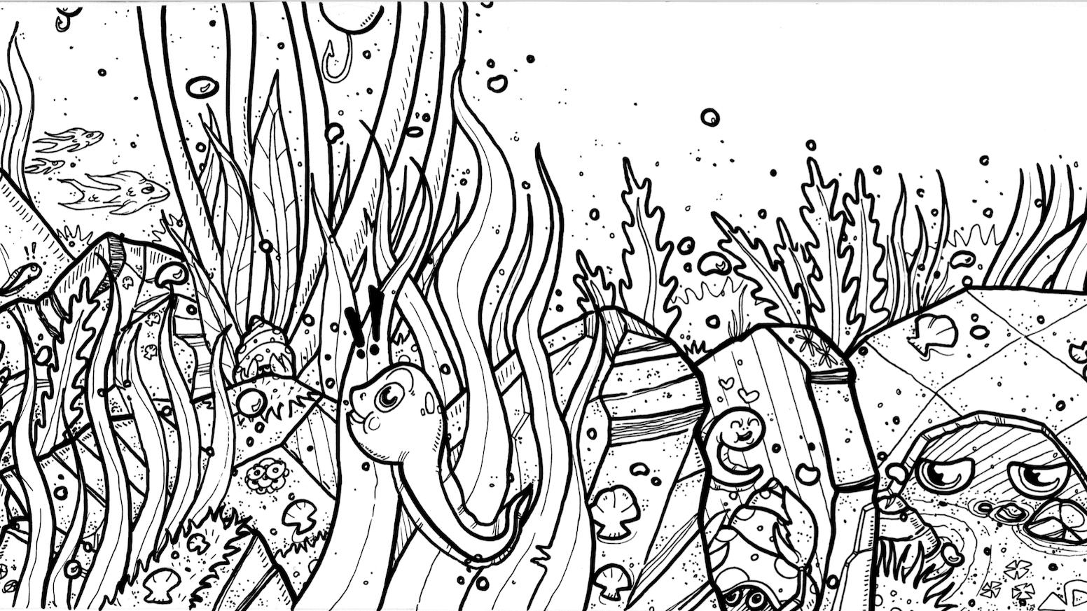 The Froga Origins A Fairytale Coloring Book Adventure