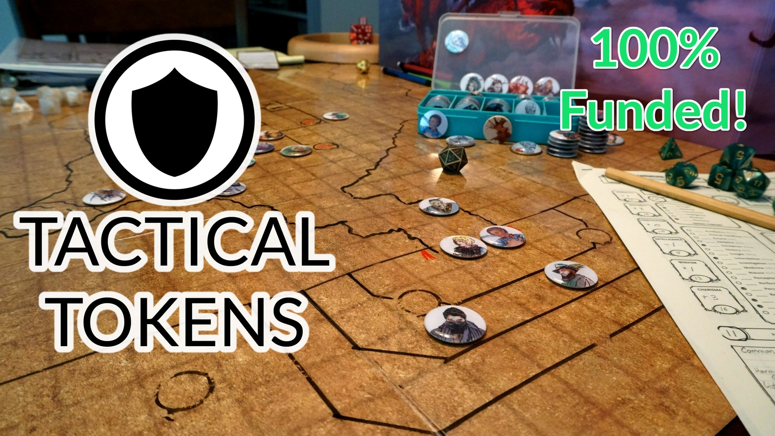 Tactical Tokens: Quality Game Pieces for Tabletop Games  by