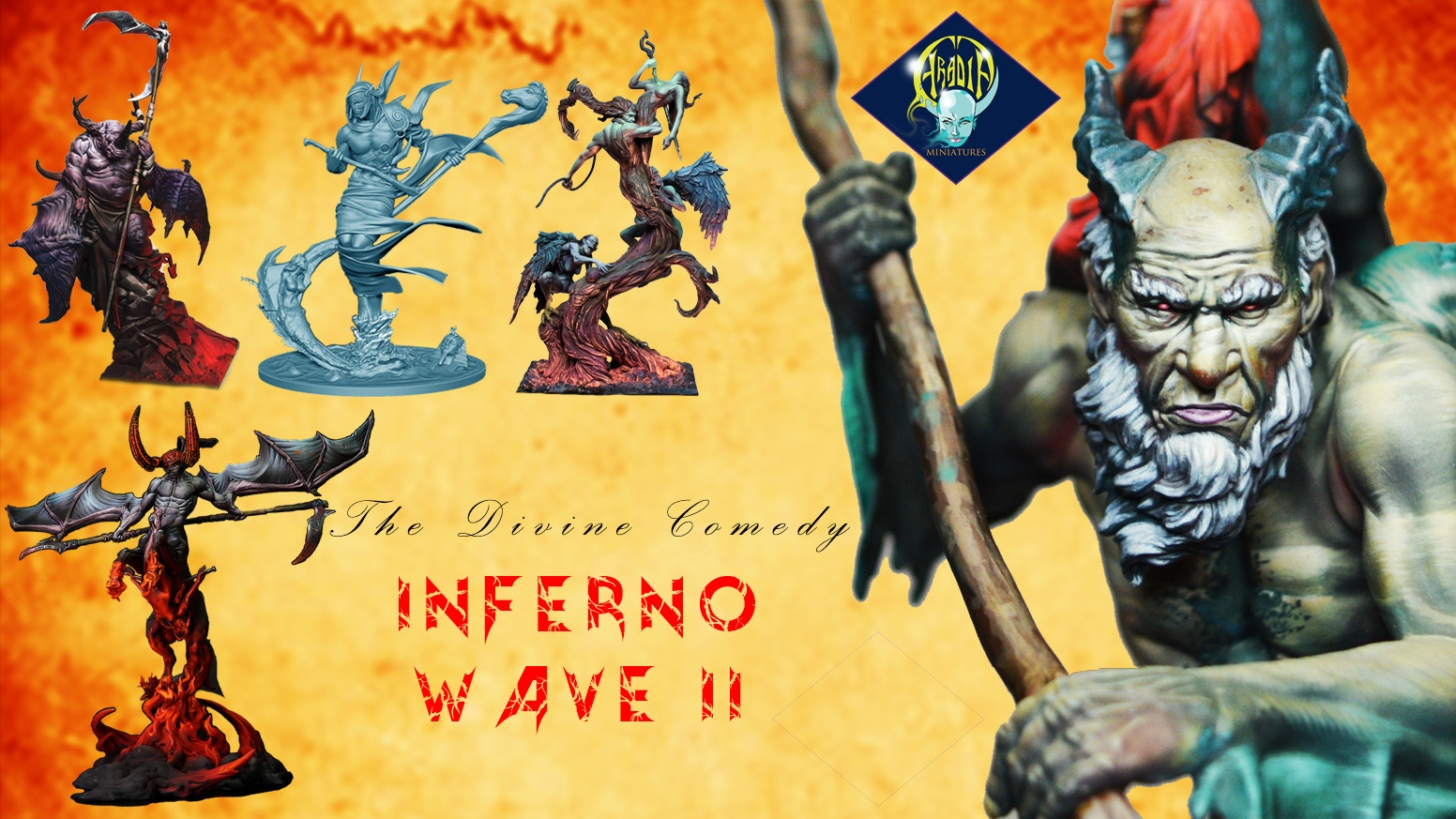Aradia Miniatures The Divine Comedy Dante S Inferno Ii By