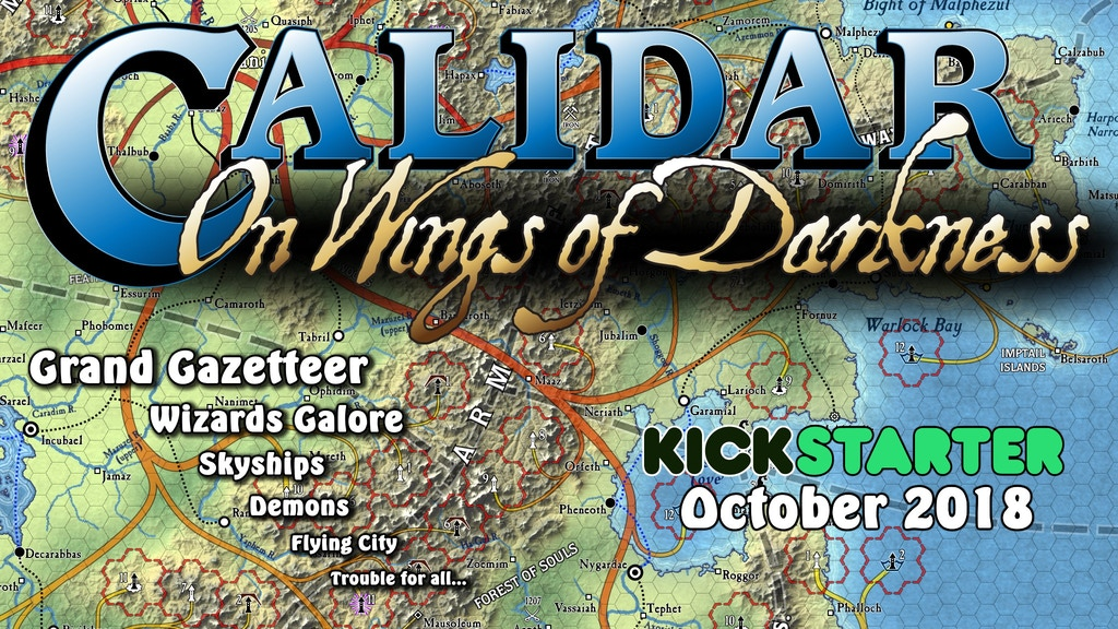 "Calidar ""On Wings of Darkness"" project video thumbnail"
