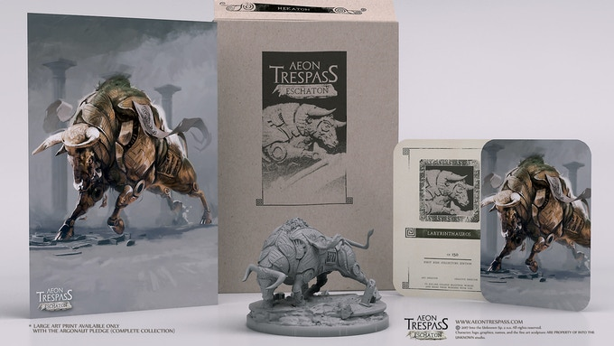 Labyrinthauros deluxe set
