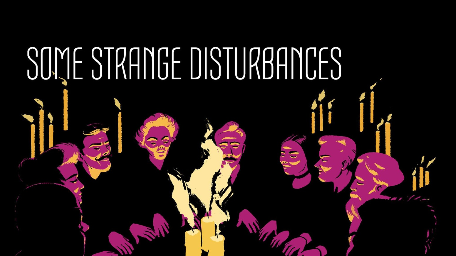 SOME STRANGE DISTURBANCES is a Victorian Horror Comic featuring a diverse trio of main characters (LGBTQ and POC).
