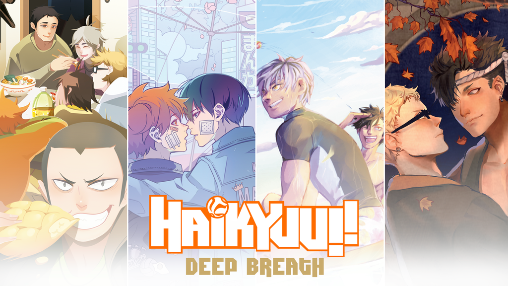 Haikyuu!! Deep Breath Fanbook
