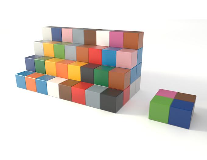 Example: SKYRMIO 80 R Set will get four cubes in addition. / Beispiel: SKYRMIO 80 R Set erhält vier weitere Würfel.