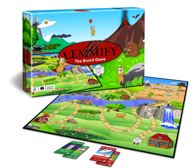 Lemmify -  The Board Game