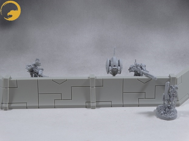 Picture 2: Look how good the Wargame Exclusive miniatures are taking cover