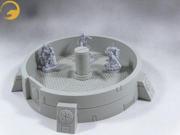 Alpha-Tauri sci-fi tabletop terrain - Kickstarter - Reaper Message Board