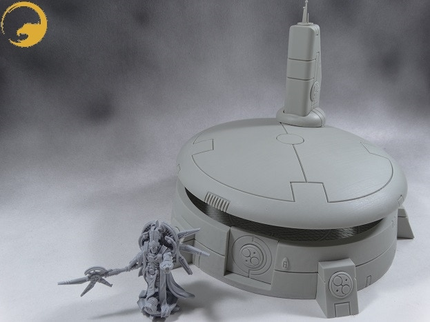 Picture 12: Sometimes also the Wargame Exclusive Aether has to go outside his safe place.