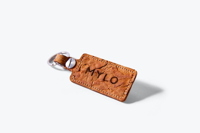 The Bolt Projects team designed an embossed Mylo key fob to give you even more options for functional, stylish accessories made out of Mylo