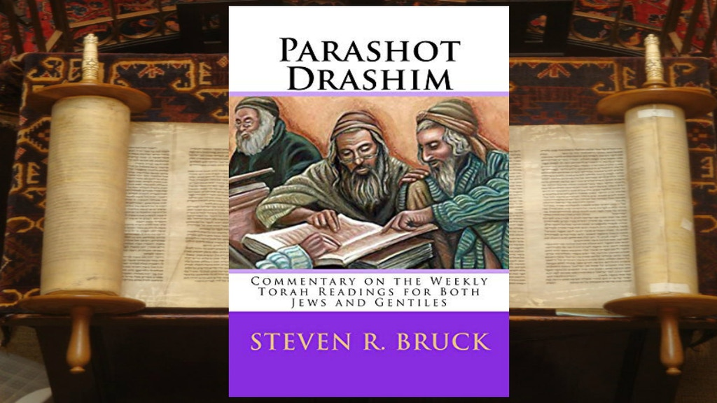Parashot Drashim - Newest Book By Steven R. Bruck project video thumbnail