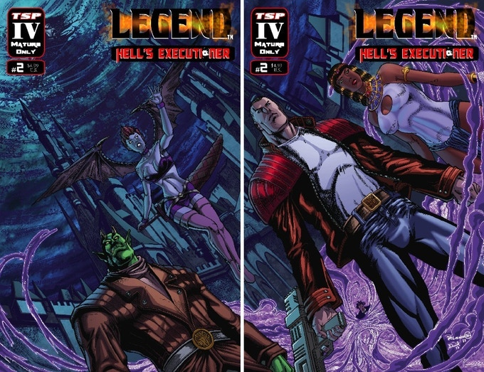 Legend: Hell's Executioner #2 (Cover A & B)