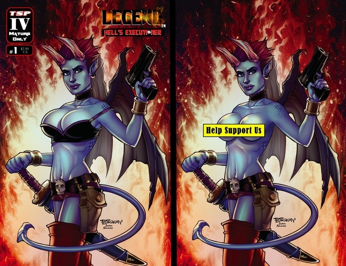 Legend: Hell's Executioner #1 (Cover B & C)