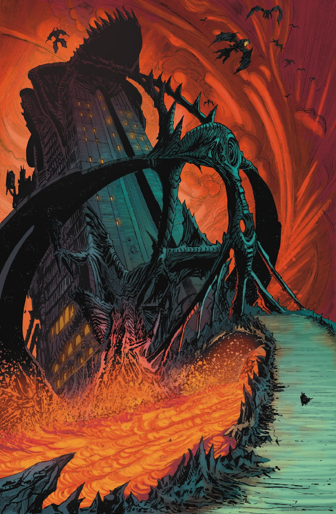 Legend: Hell's Executioner #3 Page #1
