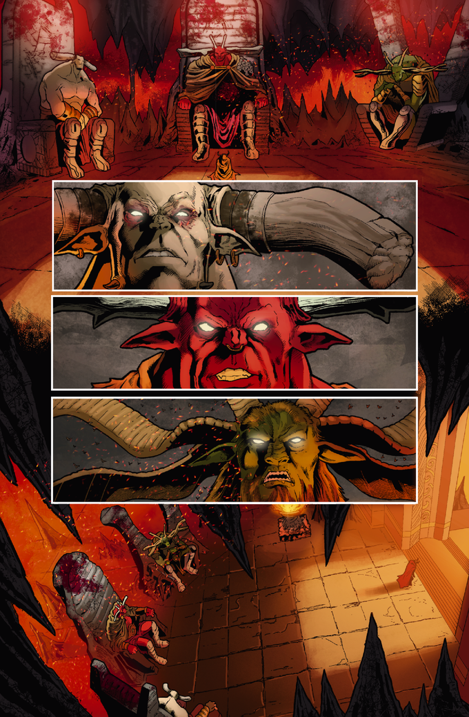 Legend: Hell's Executioner #3 Page #2