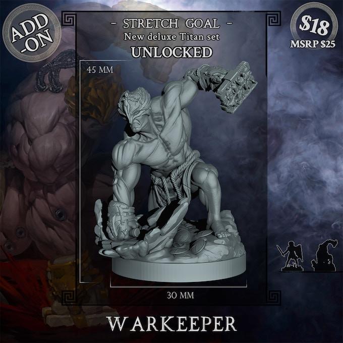 Warkeeper deluxe set