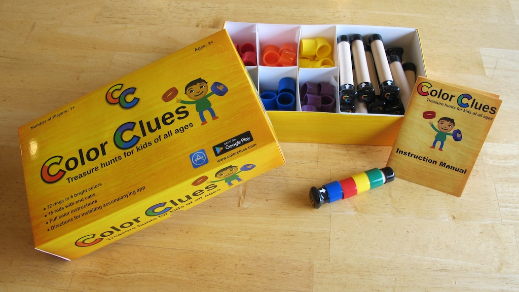 Color Clues - Treasure hunts for kids of all ages project video thumbnail