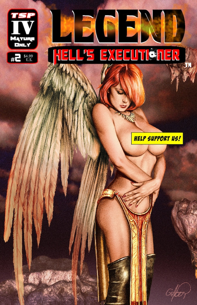 Legend: Hell's Executioner #2 Cover D (Limited to 125 copies)